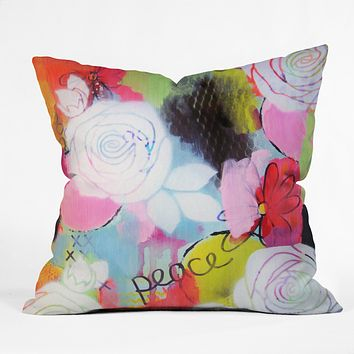 Natalie Baca Peace Of Mind Throw Pillow