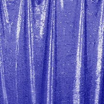 BLUE SEQUIN FABRIC PHOTO BACKDROP- 4'w x 8'h - LCAB695 - Last Call