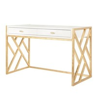 The Cordelia Desk | White