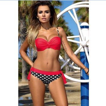 Beach New Arrival Swimsuit Summer Hot Hot Sale Sexy Patchwork Swimwear Bikini [7767307015]