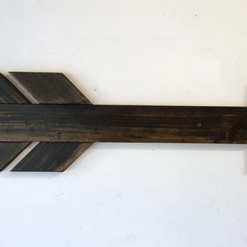 Large Arrow Sign, arrow wall decor, wood wall sign, arrow wall art rustic home decor arrow wall hanging, reclaimed wood sign rustic wall art