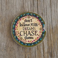 Chase  Your  Dreams  Car  Coaster  From  Natural  Life