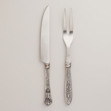 Vintage-Style Carving Set - World Market