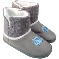 North Carolina Tar Heels (UNC) Ladies Knit Booties - Gray
