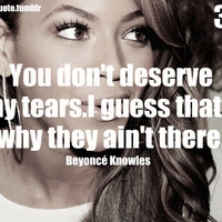 beyonce, beyonce quote, quote, roosquote - inspiring picture on Favim.com