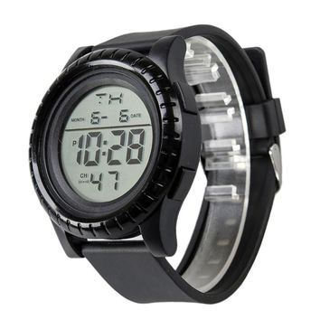 NEW Fashion Men's LED Digital Dateuntdown Timer Sport Quartz Wrist Watch