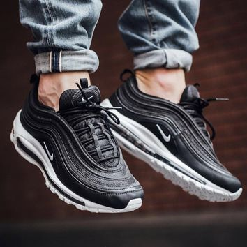 KUYOU NIKE AIR MAX 97 BLACK WHITE