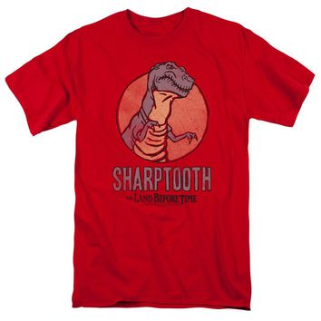 Land Before Time - Sharptooth Short Sleeve Adult 18/1