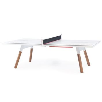 You And Me Ping Pong Dining Conference Table A R Store