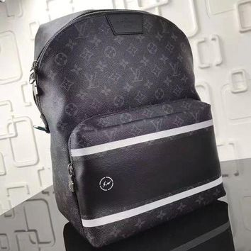 DCCKH3R Louis Vuitton x Fragment Apollo Backpack Monogram Eclipse Black