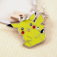Pikachu Pokemon Kawaii Necklace