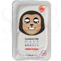 The Face Shop Character mask - Monkey (Soothing + Apple)