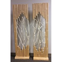 Screen Gems Bamboo Stands Set Of Two