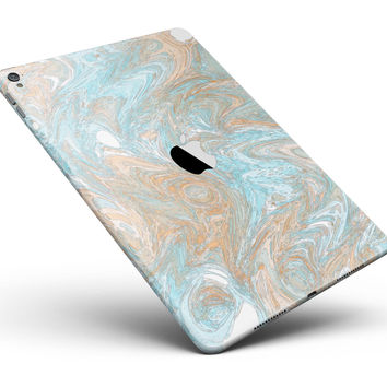 """Slate Marble Surface V28 Full Body Skin for the iPad Pro (12.9"""" or 9.7"""" available)"""