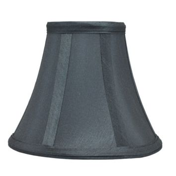 Urbanest Gray Chandelier Mini Lamp Shade - Softback Bell