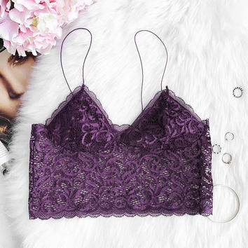 Cupshe Take Me Anywhere Lace Bralette