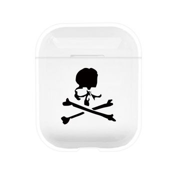Skull & Bones Protective Tpu Apple Airpod Case - Clear