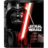 Star Wars: The Original Trilogy - A New Hope / The Empire Strikes Back / Return Of The Jedi (Blu-ray + DVD) (Widescreen) - Walmart.com
