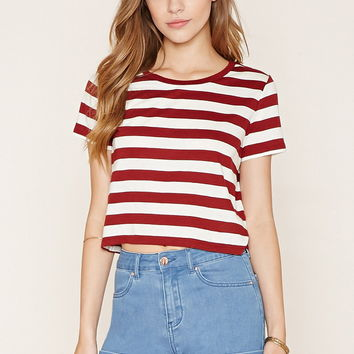 Striped T-Shirt | Forever 21 - 2000222072