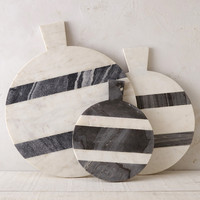 Two Tone Marble Serving Board