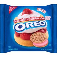 Nabisco Limited Edition Strawberry Shortcake Oreo Sandwich Cookies, 10.7 oz - Walmart.com