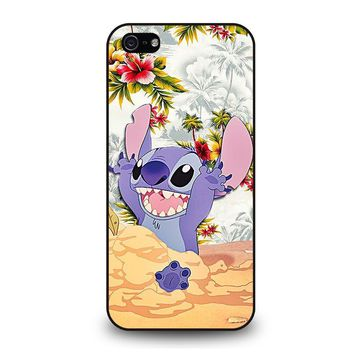 DISNEY LILO & STITCH VINTAGE FLORAL iPhone 5 / 5S / SE Case Cover