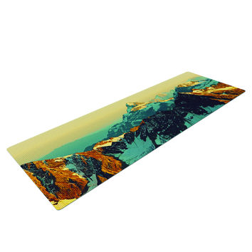 Snow Caps Mountain Yoga Mat