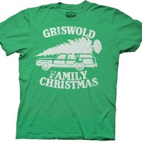 Christmas Vacation Green Griswold Family Christmas GREEN Adult T-shirt Tee