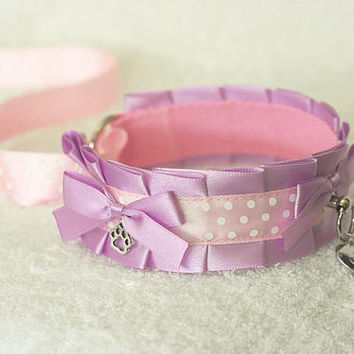 My Sweetheart - collar for pet play, kitten play, puppy play, fox play etc.