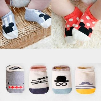 2017 New Hot sale Mickey Baby Socks