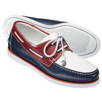Union Jack Henley boat shoes | Men's casual shoes from Charles Tyrwhitt | CTShirts.com
