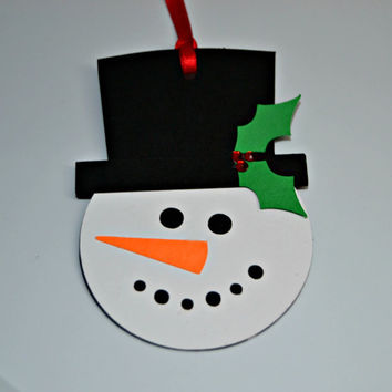 Snowman Gift Tags Snowman To From Tags Snowman with Top Hat Tag DIY Christmas Giftwrap