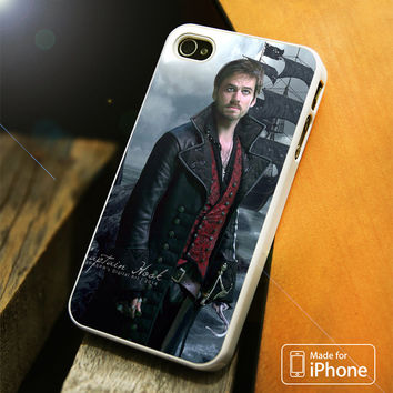 Once Upon A Time Captain Hook Digital Art iPhone 4(S),5(S),5C,SE,6(S),6(S) Plus Case