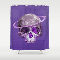Purple Haze Shower Curtain by Terry Fan
