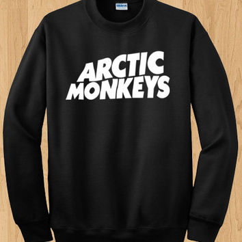 Arctic Monkeys Crewneck Sweatshirt - English Indie rock t-shirt - Arctic Monkeys