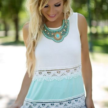 Sweet Country Tank Mint