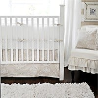 Pebble Moon Crib Bedding Set