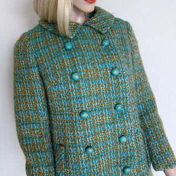 60s Lord & Taylor Vintage Jacket  Tailored Wool  by JoulesVintage