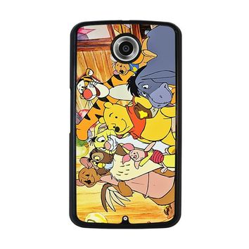 WINNIE THE POOH AND FRIENDS Disney Nexus 6 Case Cover