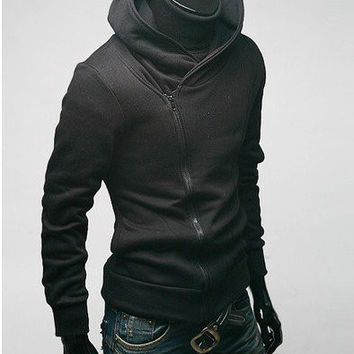 Free shipping Cos Assassin's Creed Revelations Desmond Miles Cosplay Costume Hoodie bp Jacket Assassins Creed Hot sale