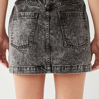 BDG Acid Wash Pencil Mini Skirt – Black | Urban Outfitters