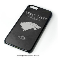 Game Of Thrones - House Stark Design for iPhone and iPod Touch Case