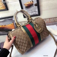 fashion Gucci bag Fashion Women Shopping Leather Tote Handbag Shoulder Bag