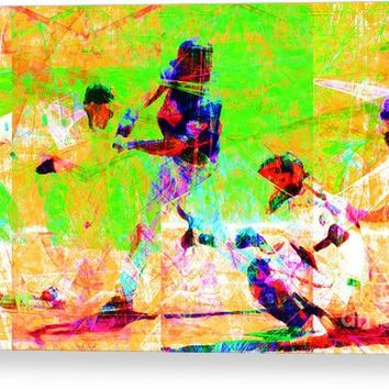The All American Pastime 20140501 Long Canvas Print