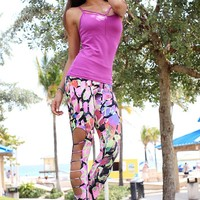 Equilibrium Brazilian Activewear | Purple Activewear Top