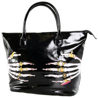 "Women's ""Death Groper"" Tote Bag by Iron Fist (Black)"