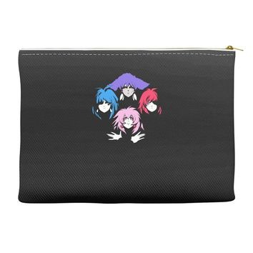 bohemian holograms Accessory Pouches
