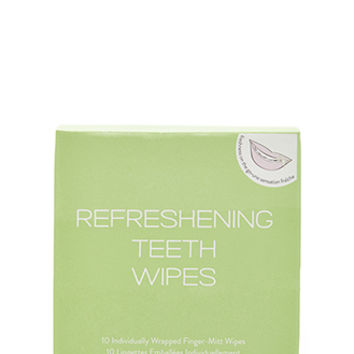 Refreshening Teeth Wipes