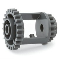 Lego Parts: Technic, Gear Differential, 24-16 Teeth (Dark Bluish Gray)