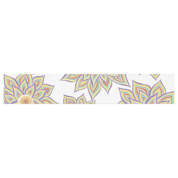 "Pom Graphic Design ""Floral Dance"" Table Runner"